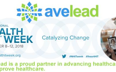 Avelead a Proud Partner in U.S. National Health IT Week 2018