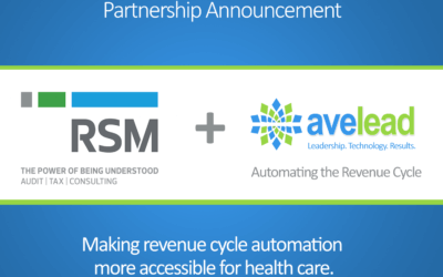 RSM and Avelead Automate Revenue Cycle for Middle Market Health Care